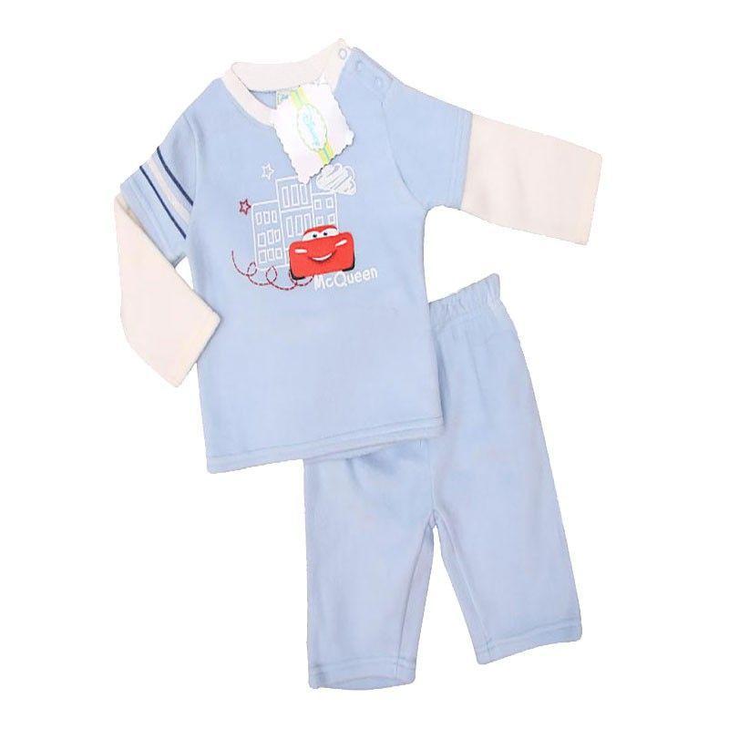 Baby jongens fleece pyjama set