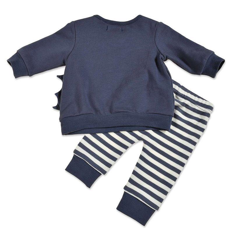 Blue Seven baby pyjama set jongens newborn Dino