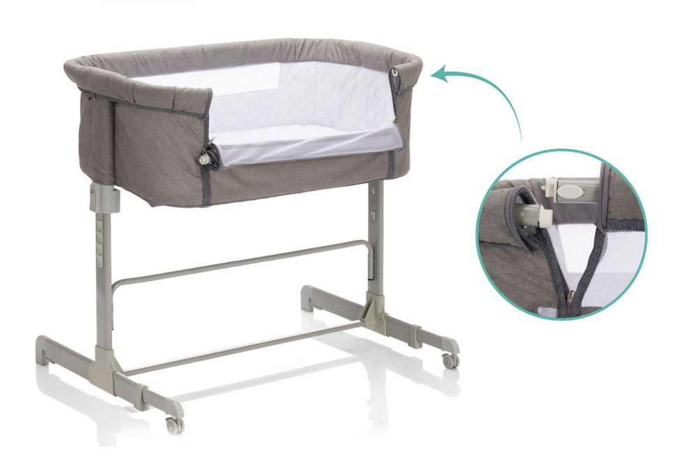 Co-Sleeper Wieg - inclusief matras - Fillikid