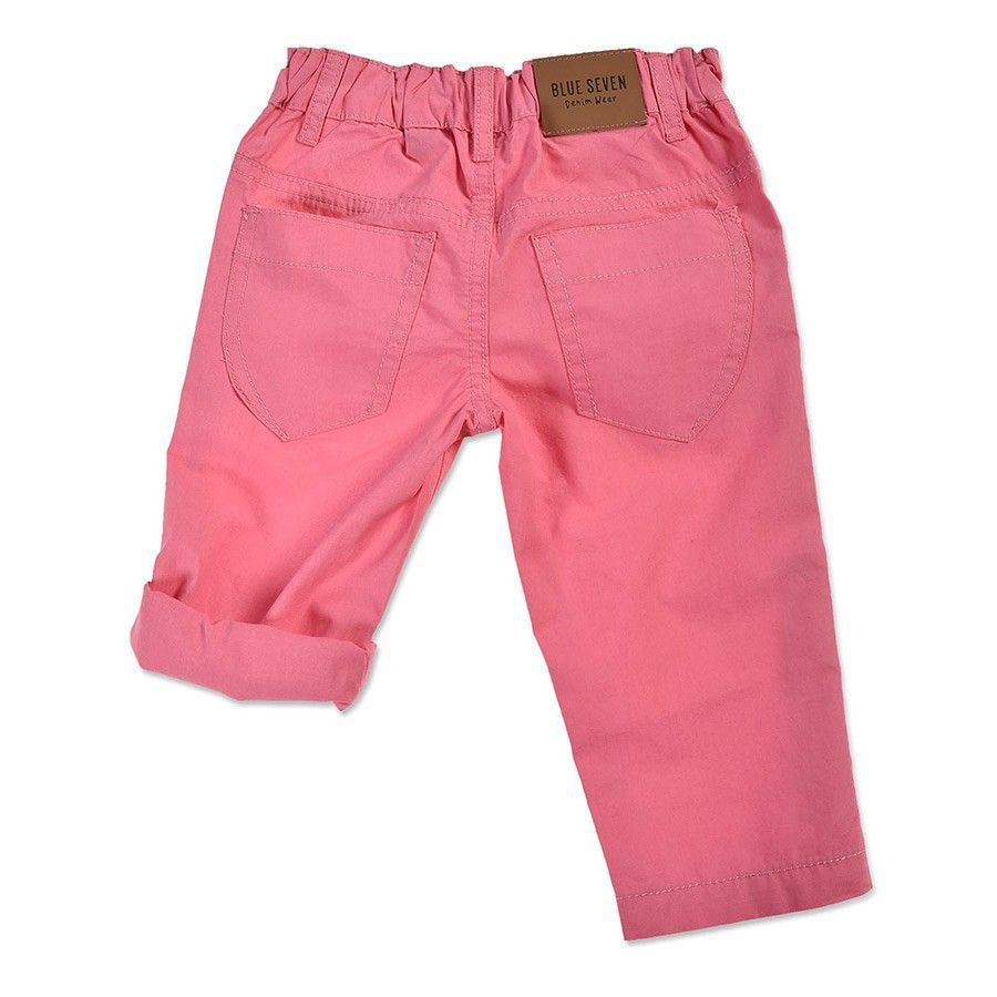 Blue Seven baby meisjes broek roze