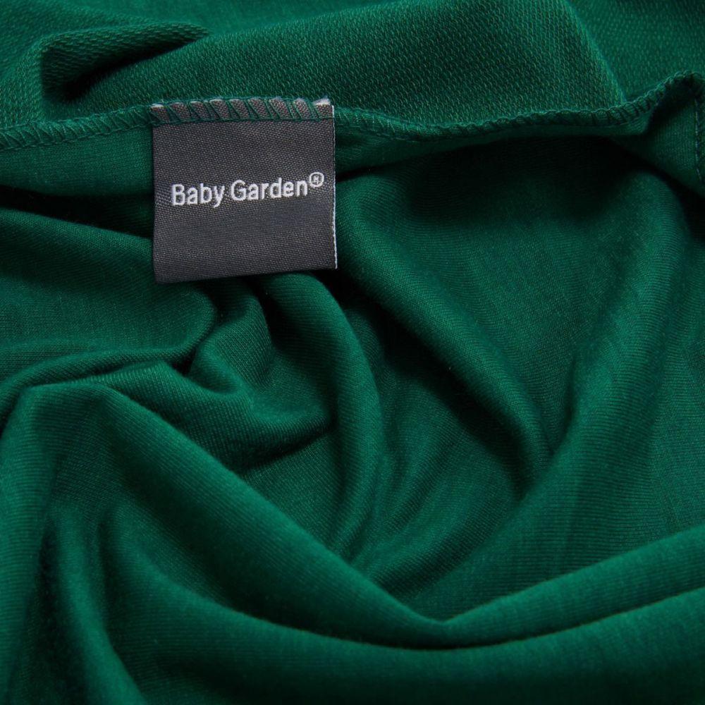 Baby Garden draagdoek groen - Original - Gratis slabbetje