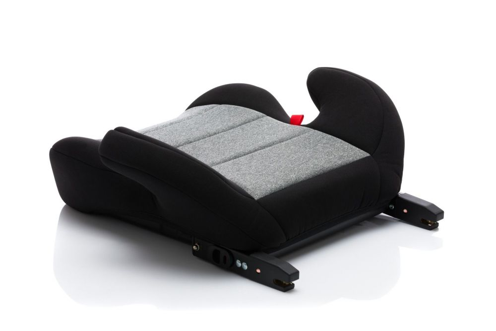 Auto Zitverhoger - Kinderzitje - Isofix - grijs zwart - Fillikid