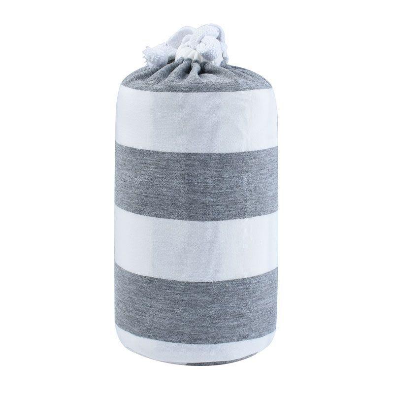 Baby Garden draagdoek gestreept - grijs wit - Original