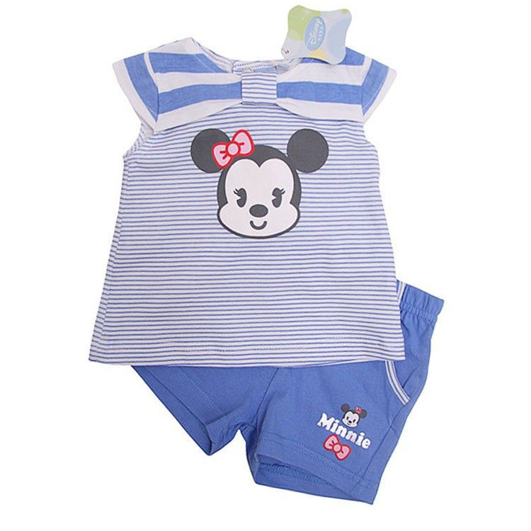 Disney baby meisjes set shirt & korte broek