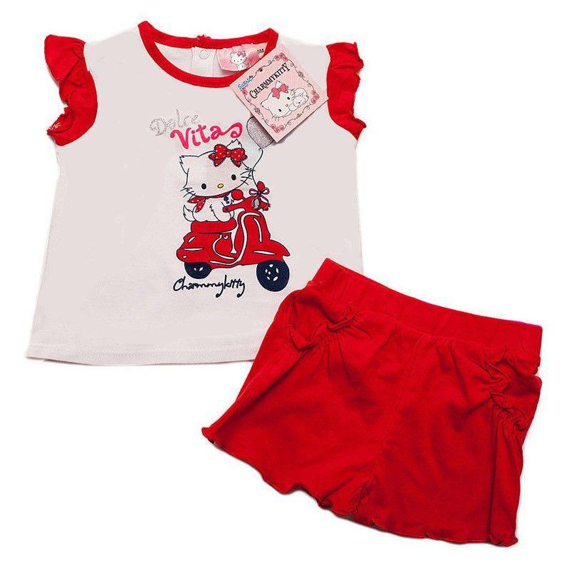 Baby meisjes set shirt en broekje