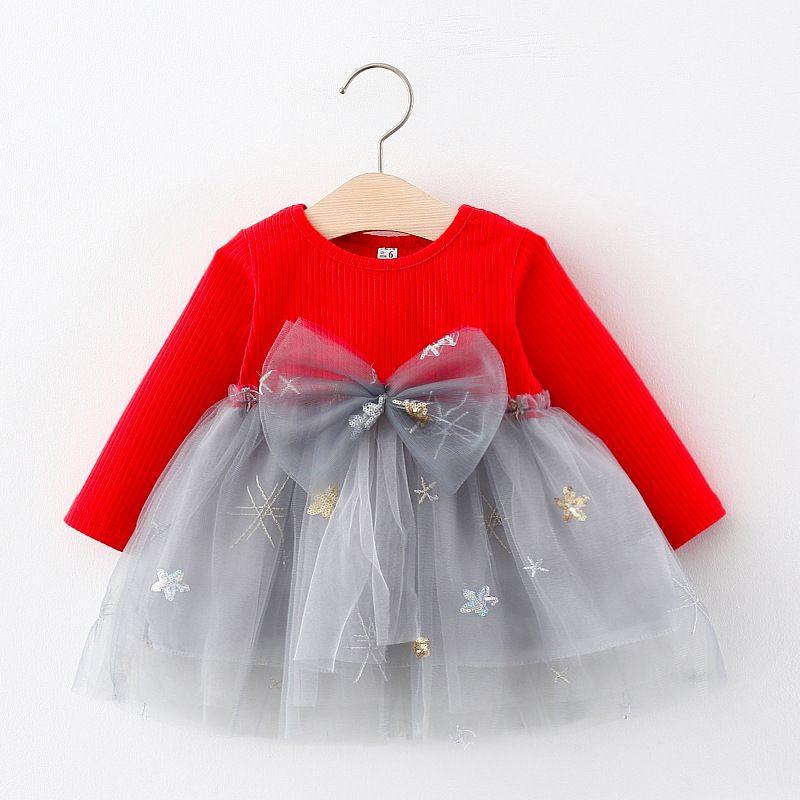 Baby Garden Baby jurk rood