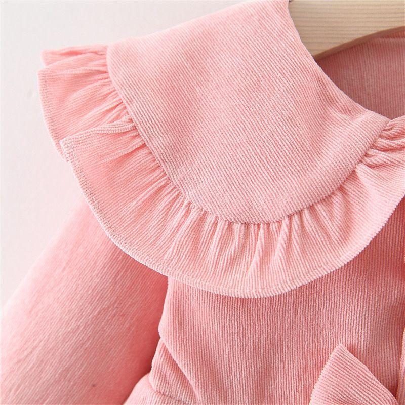 Baby Garden baby jurk roze chique