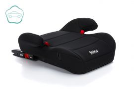 Auto Zitverhoger - Kinderzitje - Isofix - Zwart - Fillikid