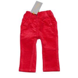 Meisjes corduroy broek red