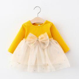 Baby Garden Baby jurk geel